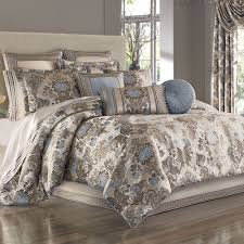 Jordyn Olivia Damask forter Bedding by J Queen New York