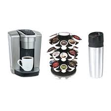 Keurig Stainless Steel Travel Mug K Elite Coffeemaker W Carousel 16oz