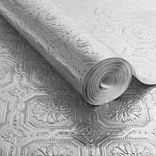 silver metallic ceiling wallpaper grahambrownus