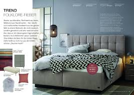 broschüre inspiration schlafzimmer schöner wohnen kollektion