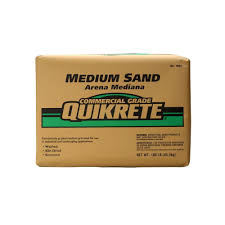 Quikrete 50 lb mercial Grade Sand Medium The Home Depot