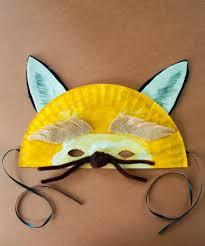 Kindergarten Arts Crafts Activities Big Bad Wolf Paper Plate Mask