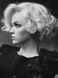 Shorts Short Curly Bob And On Pinterest Astonishing Easy Vintage Hairstyles