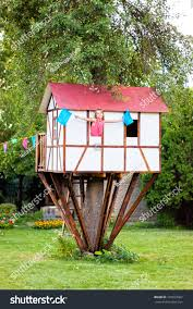 Cute Small Tree House Kids On Stock Photo 185833367 - Shutterstock Best 25 Treehouse Kids Ideas On Pinterest Kids Treehouse Designs And Youtube Play Houses Forts For Hip Cubby House Outdoor Backyard Wooden Houses 371 Best Extreme Playhouses Images Playhouse Registration Simple Amazoncom Kidkraft Toys Games Outside Play In This Fun Fort With Bridge Rockwall Decoration Ideas Adorable Brown Castle Style This Kidfriendly Backyard Renovation Took Only 3 Weeks To Fabulous Tree Design Which Is Completed With Unique Yard Games