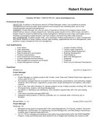 Medium To Large Size Of Project Management Skills Resume Some Examples Improving Your Pdf