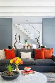 Contemporary Living Room Grey Couch Design Ideas Pictures Remodel And Decor