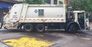 100 Sanitation Truck Displaced DSNY S Relocate To East Village Waste360
