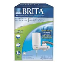 Brita Faucet Mount Chrome Filter by Brita On Tap White Filtration System Lowe U0027s Canada