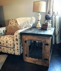Dog Wood Crates Canada Crate Furniture Side Table Cage