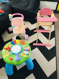 100 Frog High Chair Fisher Price Leap Frog And Wooden Dolls High Chair In Marston