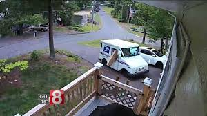 Mail Truck Driver Tosses Package Out Of Window In Plymouth