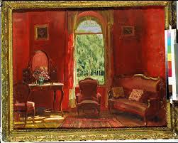 akg images das rote wohnzimmer