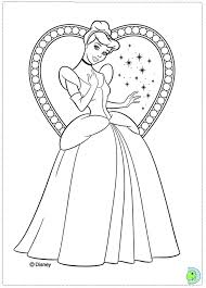Cinderella Colouring Pages 2015 Love Princess Coloring 807
