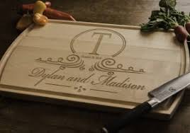 Personalized Wedding Gifts Best Of Gift Monogrammed Wood Cutting Board