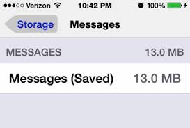 How do you delete saved messages from an iphone 4s iPhone iPad