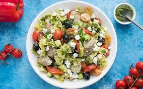 recette salade froide de pâtes au pesto missfresh