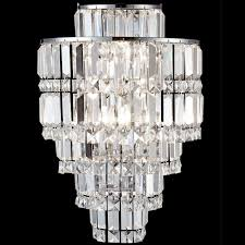 dale gw13348 cathedral polished chrome wall sconce