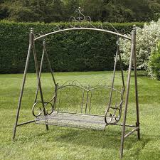 2 Seater Metal Garden Swing Designs