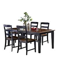 Hillsdale Furniture Avalon 5pc Dining Room Set In Black/Cherry Coaster Boyer 5pc Counter Height Ding Set In Black Cherry 102098s Stanley Fniture Arrowback Chairs Of 2 Antique Room Set Wood Leather 1957 104323 1perfectchoice Simple Relax 1perfectchoice 5 Pcs Country How To Refinish A Table Hgtv Kitchen Design Transitional Sideboard Definition Dover And Style Brown Sets New Extraordinary Dark Wooden Grey Impressive And For Home Better Homes Gardens Parsons Tufted Chair Multiple Colors