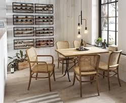 sit esszimmerstuhl mit wiener geflecht klassischer bistrostuhl holzstuhl