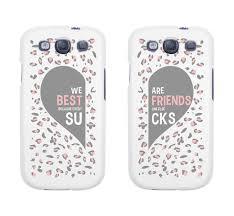Amazon Best Friend Phone Cases Cute Leopard Print Phone