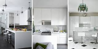 White Cabinet Kitchen Design For Fine Best Kitchens Ideas Pictures Unique