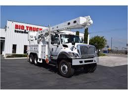 100 Boom Truck 2012 INTERNATIONAL 7400 Bucket Crane For Sale Auction