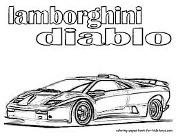 Lamborghini Coloring Pages And WwwColoring
