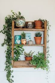A Beautiful And Simple Kitchen Shelf Made From Rustic Pallet Wood To Hold Herbs
