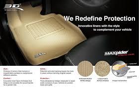 Scion Xb Floor Mats by Amazon Com 3d Maxpider Front Row Custom Fit All Weather Floor Mat
