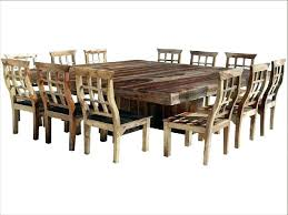 Dining Room Table Seating 12 Extendable Seats Large
