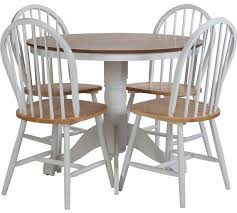 Buy Argos Home Kentucky Solid Wood Table 4 Chairs
