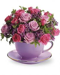 Send Telefloras Cup Of Roses Bouquet For Fresh And Fast Flower Delivery Throughout San Marcos CA Area