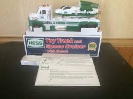 2014 HESS TOY Truck And Space Cruiser W/scout Excellent New ...