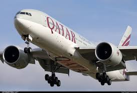 boeing 777 extended range qatar airways inaugurates the route in the world