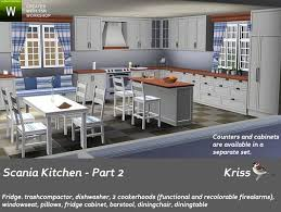 Sims 3 Updates The Resource Scania Kitchen Part 2 By Kriss