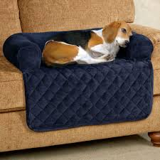 Bolster Dog Bed by Ultimate Microplush Quilted Pet Cover With Bolster