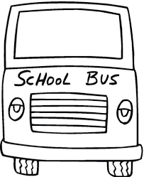 School Bus Safety Coloring Book Pages Page