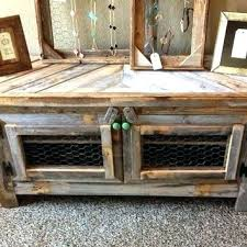 Distressed Wood Tv Cabinet Stand Crown Reclaimed Barn Rustic Style Sofa Table