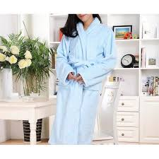 robe de chambre luxe robe de chambre luxe polaire femme bleu ciel motifs achat vente
