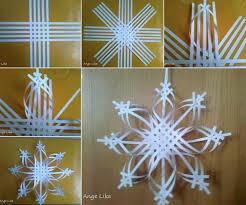 Christmas Tree Toppers To Make by Wonderful Diy Colorful Woven Star Snowflake