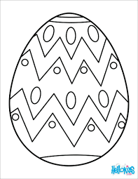 Small Easter Egg Coloring Pages Basket Sheet Painted Page Colouring Full Size
