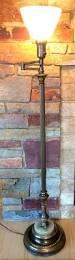 Stiffel Floor Lamp Vintage by Vintage Swing Arm Floor Lamp C 1945 Www Myrlg Com Lighting