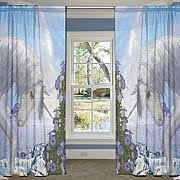 Blue Sheer Curtains Uk by Buy Curtains Voile Panel Online Lionshome