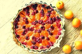 aprikosen himbeer kuchen apricot raspberry pie pane bistecca