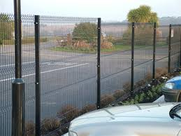 The Drawing Of Anti Climb Fence Installation Including Euroguard Regular Fencing For Schools Car Parks Residential Areas