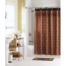 Creative Design Burnt Orange Shower Curtain Crafty Inspiration And