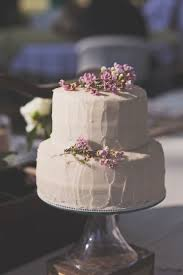 Program Lavender Wedding Cake