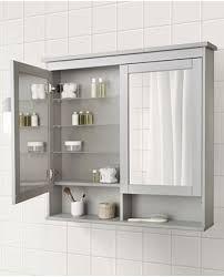 hemnes spiegelschrank 1 tür weiß 63x16x98 cm ikea