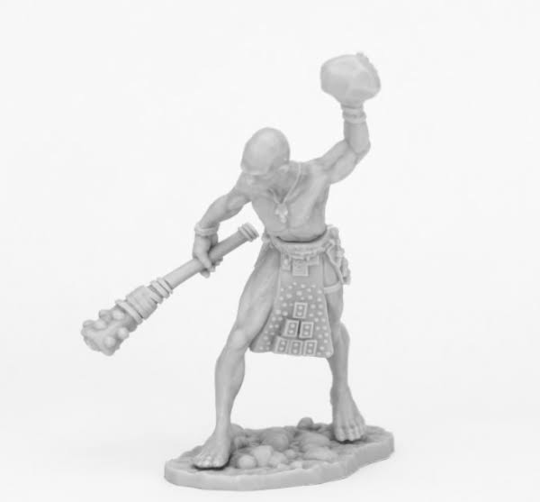 Reaper Miniatures Bones Black: Stone Giant Guard